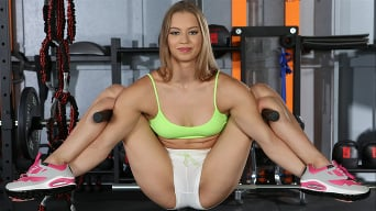 Mia Split in 'Sexy Workout Session'