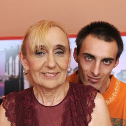 Nanney in '21Sextury' Grandma's Creampie (Thumbnail 13)