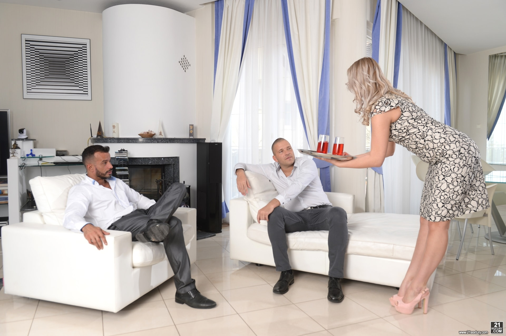 21Sextury 'Taking My Husband and Partner At Once' starring Nikki Dream (Photo 56)