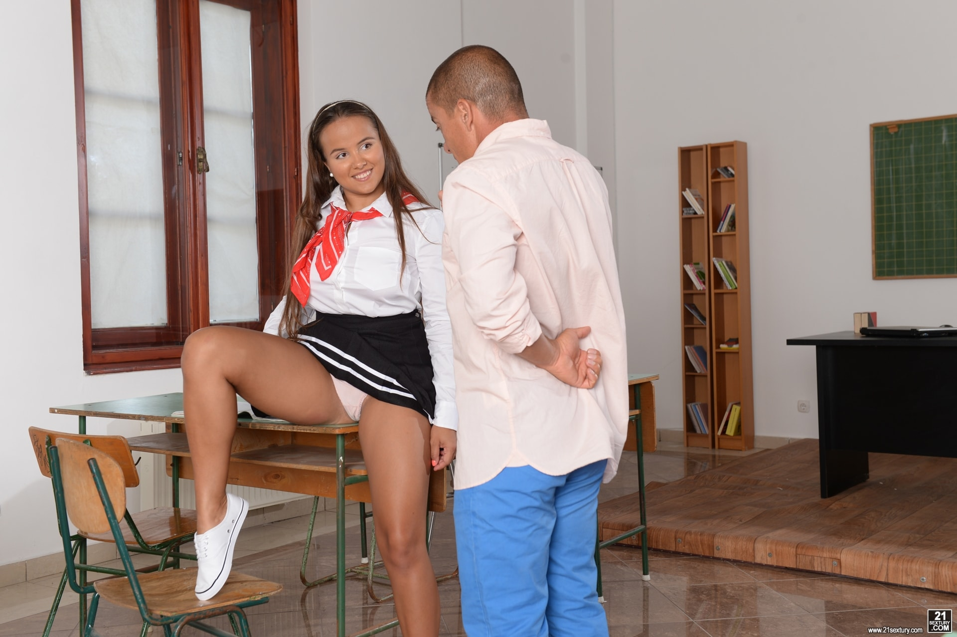 21Sextury 'Detention Rules!' starring Olivia Nice (Photo 28)