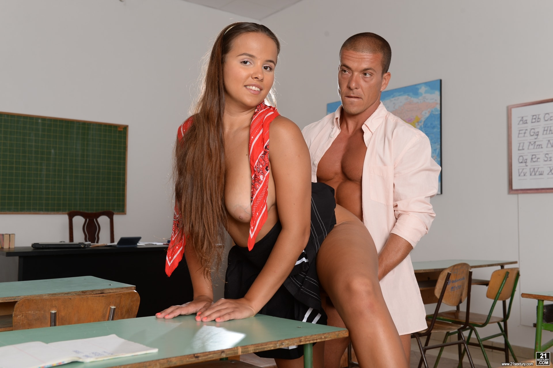 21Sextury 'Detention Rules!' starring Olivia Nice (Photo 77)