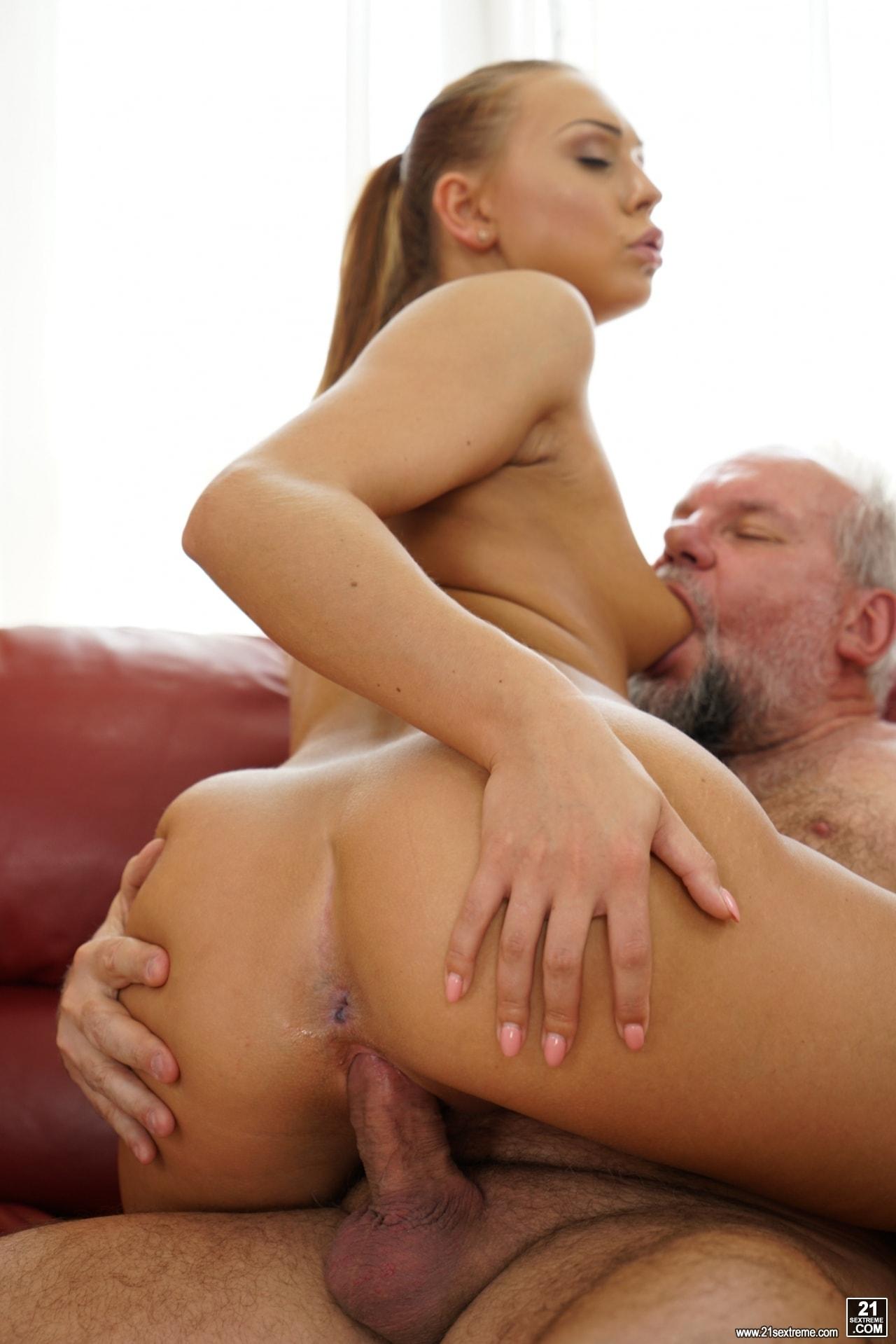 21Sextury 'Pleasing Naughty Grandpa' starring Ornella Morgan (Photo 253)