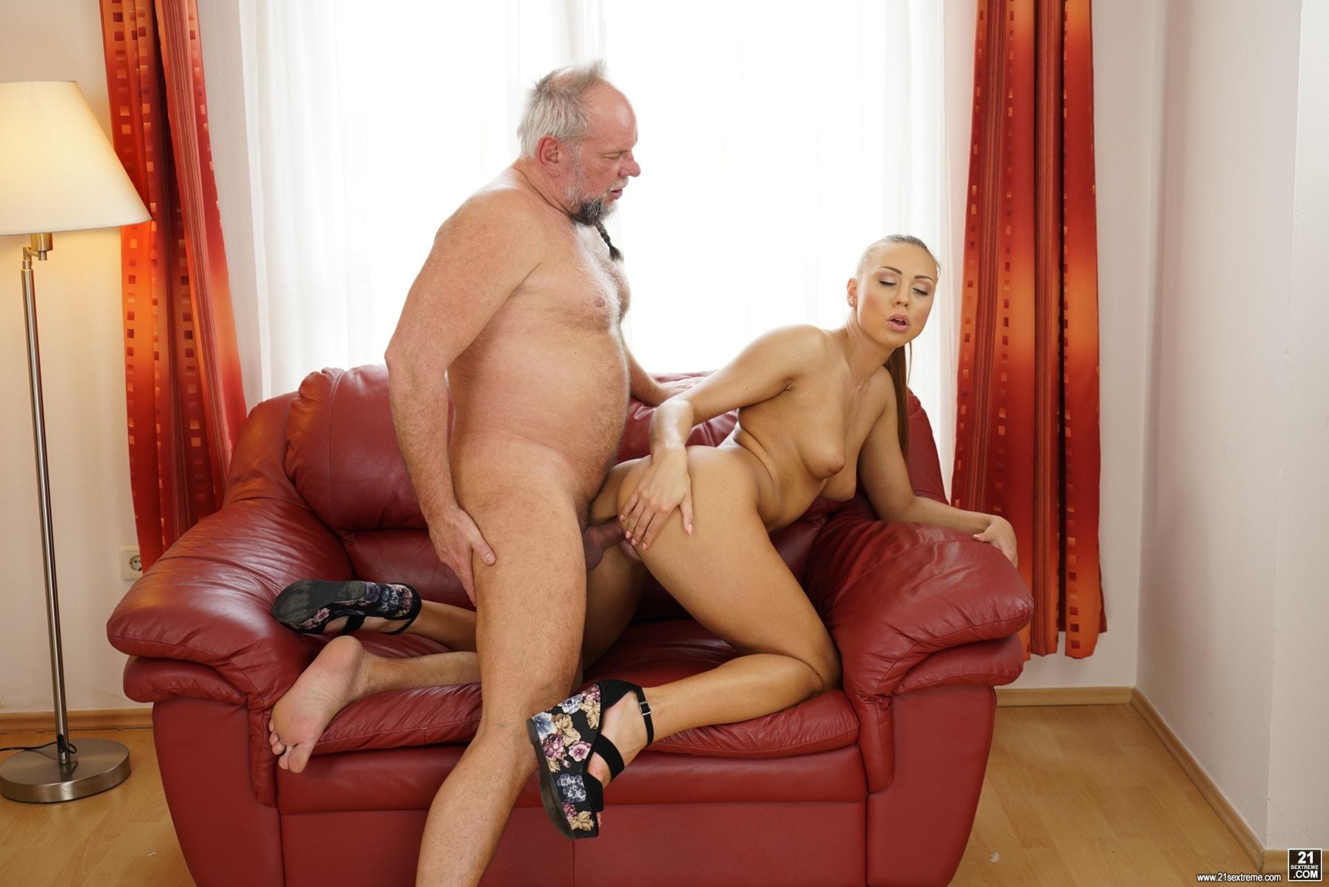 21Sextury 'Pleasing Naughty Grandpa' starring Ornella Morgan (Photo 276)