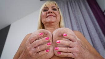 Pam Pink in 'Granny Pam's Big Tits'