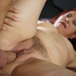 Red Mary in '21Sextury' Granny's Glass Dildo (Thumbnail 69)
