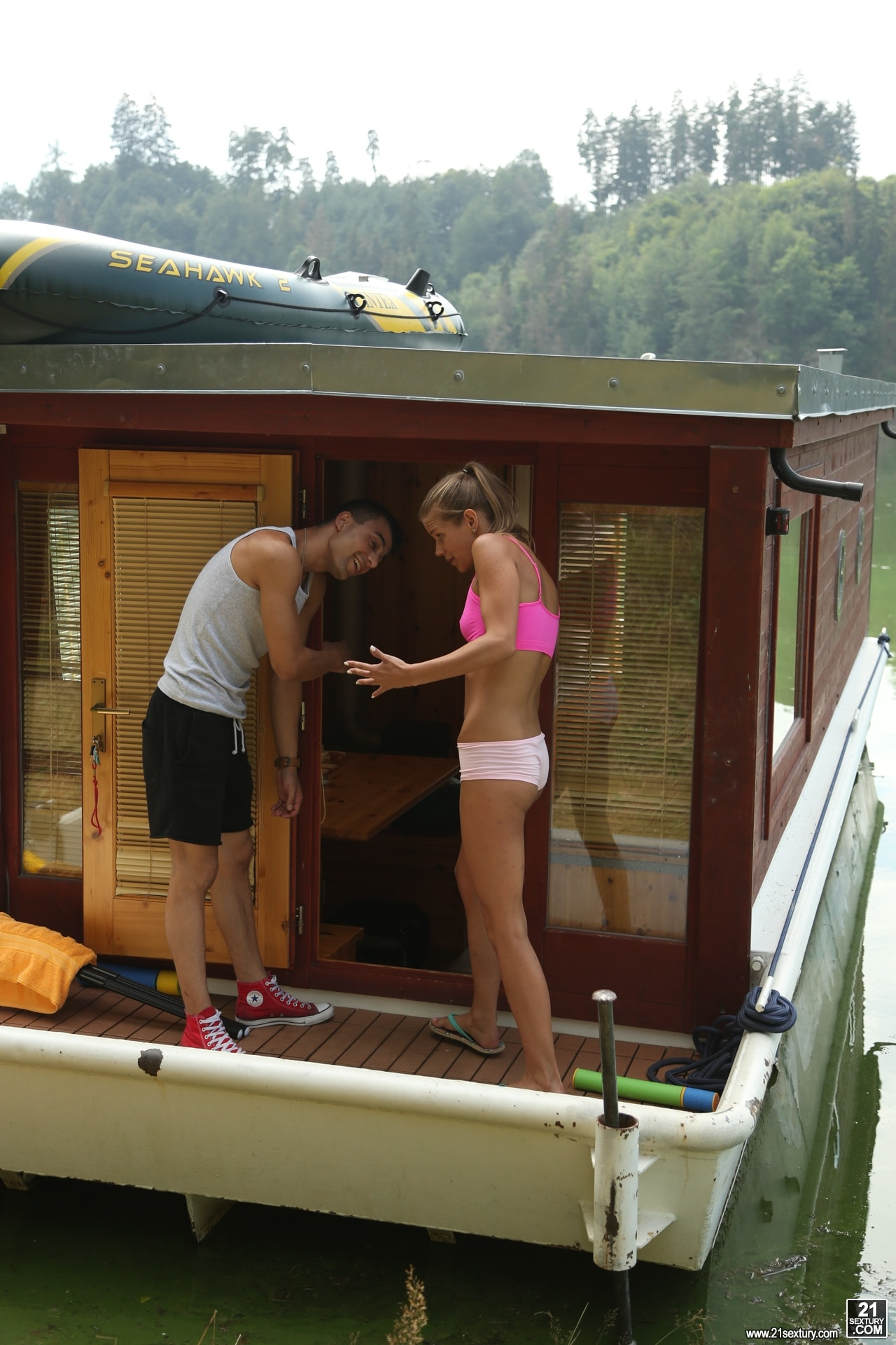 21Sextury 'House Boat Full of Teens' starring Sara Kay (Photo 8)