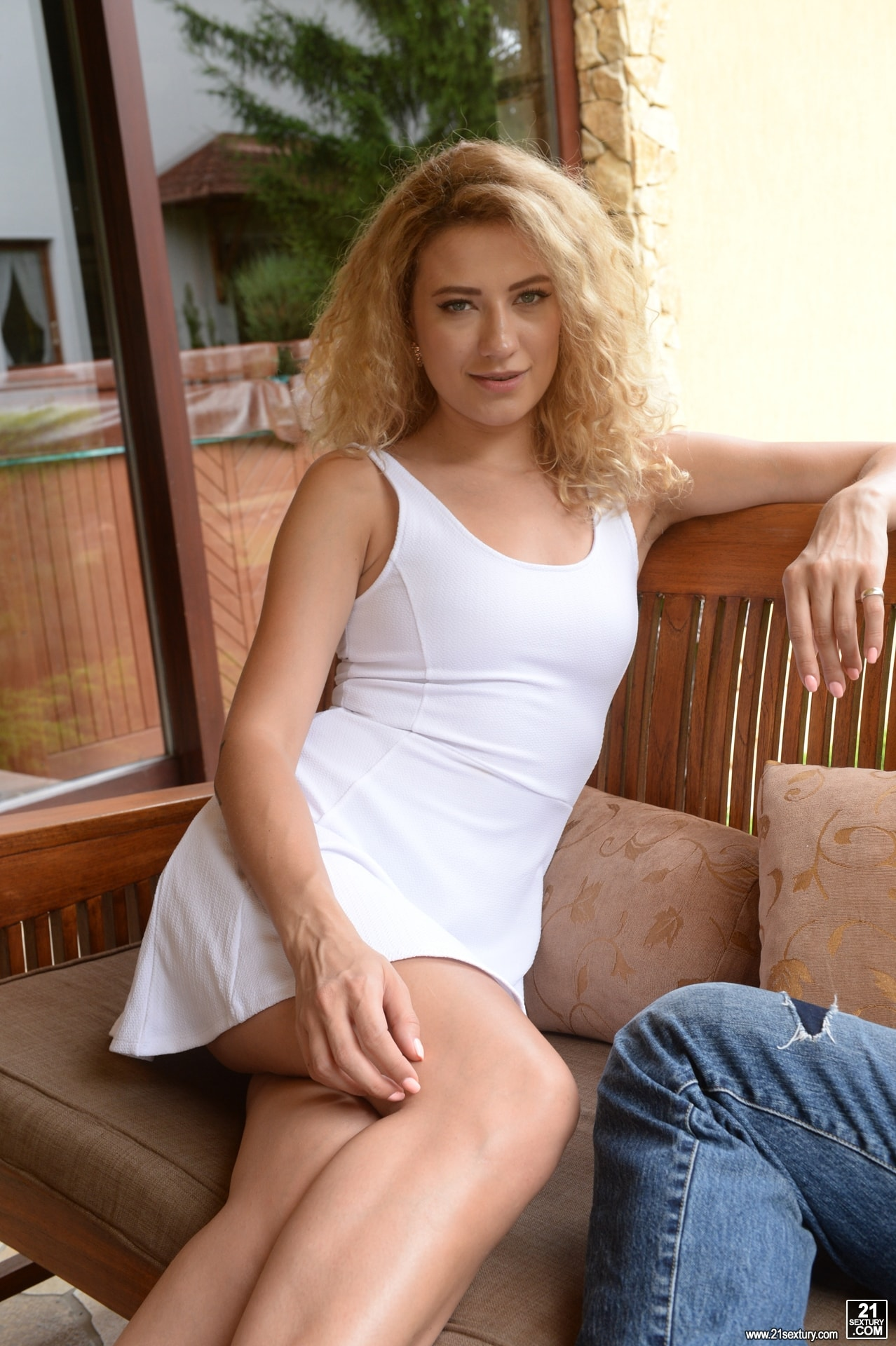 21Sextury 'Getting DP'd To Pay A Debt' starring Stasy Rivera (Photo 1)