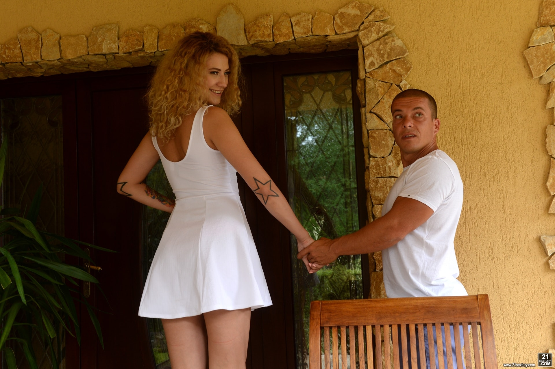 21Sextury 'Getting DP'd To Pay A Debt' starring Stasy Rivera (Photo 8)