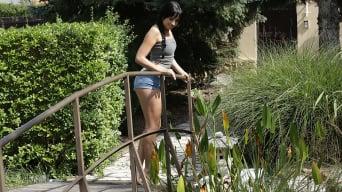 Taissia Shanti in 'Backyard Petting'