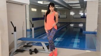 Taissia Shanti in 'Gym Conquest'