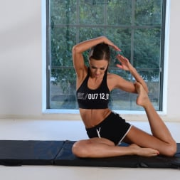 Tina Kay in '21Sextury' DP Yoga Session (Thumbnail 8)