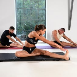 Tina Kay in '21Sextury' DP Yoga Session (Thumbnail 16)