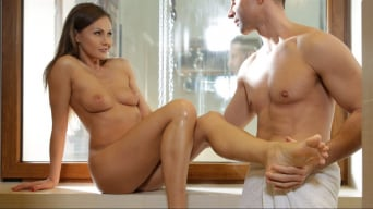 Tina Kay in 'Feet Lover Couple'