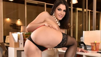 Valentina Nappi in 'Office Overtime'