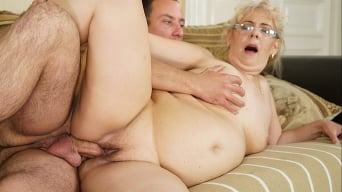 Viola Jones in 'Young Cock For Granny Pussy'